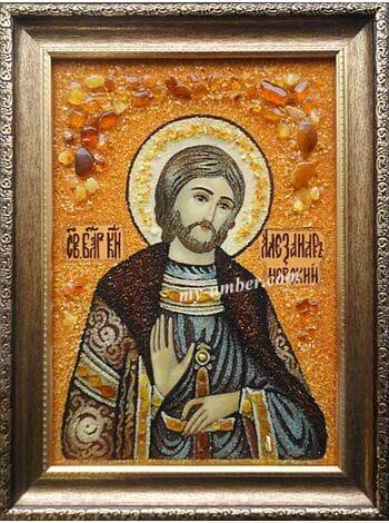 ОЛЕКСАНДР №3. Ікона з бурштину