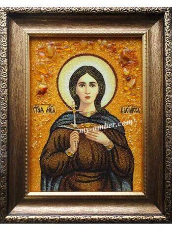 Ікона Святої мучениці Василини (Василіси).