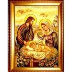 Ікони з бурштину Свята родина, Святе сімейство