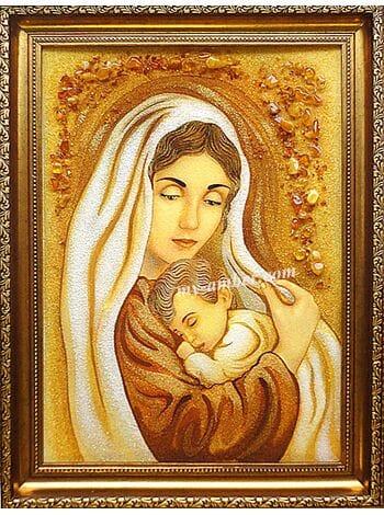 ДІВА МАРІЯ З ІСУСОМ №1